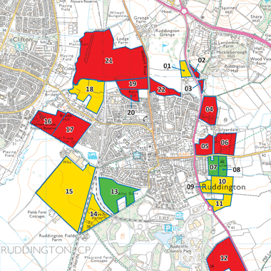 Ruddington Green Belt Assessment